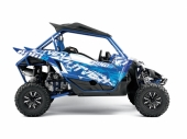 Kit déco KUTVEK Rotor bleu YAMAHA YXZ 1000 2016-2017 kit deco quad et ssv