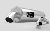 Ligne complète HMF Titan QS Series silencieux inox/casquette Billet ARCTIC CAT 1000 Wildcat 2012-2014 echappements quad
