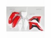 Kit plastiques UFO origine 17 rouge/noir/blanc HONDA 250 CR-F 2018 kit plastiques ufo