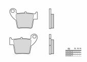 Plaquettes de frein arrière BREMBO SD/SX HONDA 250 CRF-X 2006-2017 plaquettes de frein