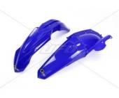 KIT GARDE BOUE UFO BLEU YAMAHA 250 YZ-F 2014-2018 kit garde boue ufo av et ar