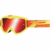 LUNETTE CROSS PROGRIP 3201 ATZAKI JAUNE FLUO lunettes