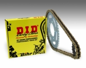 Kit chaîne D.I.D 520 type DZ2  (couronne Ultra-light) HONDA 450 CR-F 2017-2018 kit chaine