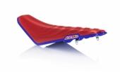 Selle complète ACERBIS SOFT ROUGE/BLEU HONDA 250 CR-F 2018-2020 selle complete