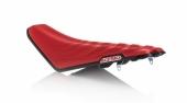 Selle complète ACERBIS SOFT ROUGE/NOIR HONDA 250 CR-F 2017-2018 selle complete
