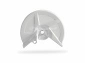 Protège disque avant Polisport BLANC HONDA 450 CR-F 2009-2013 protege disque polisport