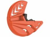 Protège disque avant Polisport ORANGE KTM EX-C/EXC-F 2008-2015 protege disque polisport