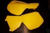PLAQUES LATRALES MAIER YAMAHA 490 YZ 1984-1985 plastique maier