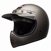 Casque BELL Moto-3 Independent TITANE MAT casque