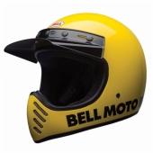 Casque BELL Moto-3 Classic JAUNE casque