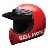 Casque BELL Moto-3 Classic ROUGE casque