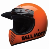 Casque BELL Moto-3 Classic Flo ORANGE casque