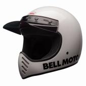 Casque BELL Moto-3 Classic BLANC casque