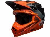 Casque BELL Moto-9 Flex Gloss/Matte Orange/Charcoal casques