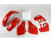 Kit plastique UFO couleur origine HONDA 125 CR  1989 kit plastique