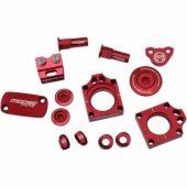 KIT COMPLET ANODISE ROUGE MOOSE RACING HONDA 250 CR-F 2009-2017