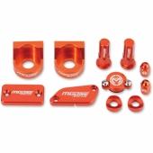 KIT COMPLET ANODISE ORANGE MOOSE RACING KTM 65 SX 2012-2013 kit complet anodisé