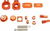 KIT COMPLET ANODISE ORANGE MOOSE RACING KTM 125 SX 2004-2008 kit complet anodisé