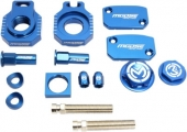 KIT COMPLET ANODISE BLEU MOOSE RACING HUSQVARNA  250 TC 2014-2016