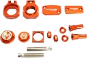 KIT COMPLET ANODISE ORANGE MOOSE RACING KTM 200 EX-C 2004-2008 kit complet anodisé