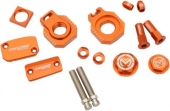 KIT COMPLET ANODISE ORANGE MOOSE RACING KTM 200 EX-C 2014-2016 kit complet anodisé