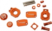 KIT COMPLET ANODISE ORANGE MOOSE RACING KTM 250 EX-C SIX DAY 2014 kit complet anodisé