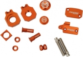 KIT COMPLET ANODISE ORANGE MOOSE RACING KTM 250 SX-F 2005-2006 kit complet anodisé
