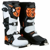 BOTTES CROSS MOOSE RACING M.13 ORANGE/NOIR bottes