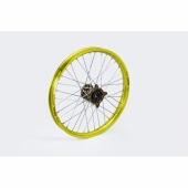 ROUE AVANT KITE ELITE JANTE JAUNE MOYEU BRONZE SUZUKI 250 RM-Z 2007-2018  roues completes
