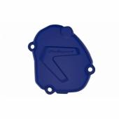 Protection de carter d'allumage POLISPORT BLEU HUSQVARNA 250/300 TE 2015-2016 protection carter allumage