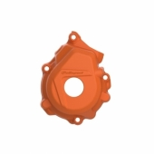 Protection de carter d'allumage POLISPORT ORANGE KTM  250/350 EXC-F 2017-2019 protection carter allumage