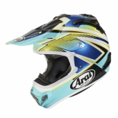 Casque CROSS ARAI MX-V Day Blue  casques
