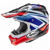 Casque CROSS ARAI MX-V Day ROUGE casques