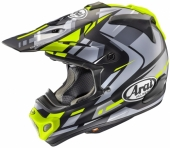 Casque CROSS  ARAI MX-V Bogle jaune casques