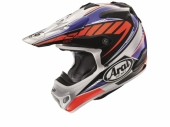 Casque CROSS  ARAI MX-V Rumble Blue  casques
