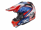 Casque CROSS  ARAI MX-V Hayden WSBK Bleu/Rouge casques