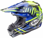 CasqueCROSS  ARAI MX-V Star JAUNE casques