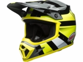 Casque CROSS BELL MX-9 MIPS Gloss HI-VIZ Marauder JAUNE/NOIR casques