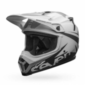 Casque CROSS BELL MX-9 MIPS Seven Ignite BLANC Matte  casques