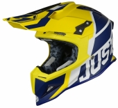 Casque CROSS JUST1 J12 Unit BLEU/JAUNE casques