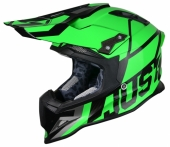 Casque CROSS  JUST1 J12 Unit VERT FLUO casques
