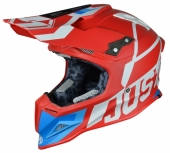Casque CROSS  JUST1 J12 Unit ROUGE/BLANC casques