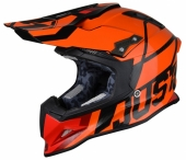 Casque CROSS JUST1 J12 Unit Orange Fluo casques