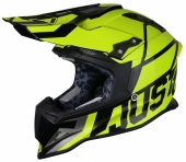 Casque CROSS JUST1 J12 Unit JAUNE FLUO casques