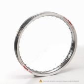 Jante EXCEL arrière argent 14x1.60x32T YAMAHA 80/85 YZ petites roues 1993-2018 cercle de jante