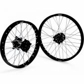 JEUX DE ROUES CROSS PROSTUF MOYEUX NOIR/CERCLE NOIR KTM SX/SX-F 2015-2018 roues completes