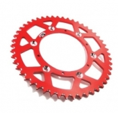 COURONNE ALU CROSS ROUGE PROSTUF HONDA 450 CR-F 2004-2008 pignon couronne