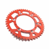 COURONNE ALU CROSS ORANGE PROSTUF KTM 125 SX 1994-2000 pignon couronne