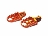 Repose-pieds SCAR Evo ORANGE HUSQVARNA 450 FC 2014-2019 reposes pieds