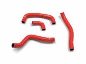 kit 4 durites type origine samco rouge HONDA 250 CR-F 2018 durite radiateur